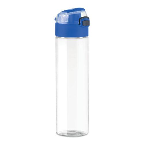 gourde-publicitaire-plastique-pctg-bouchon-bleu