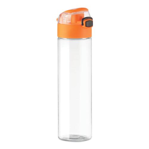 gourde-publicitaire-plastique-pctg-bouchon-orange