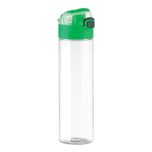 gourde-publicitaire-plastique-pctg-bouchon-vert