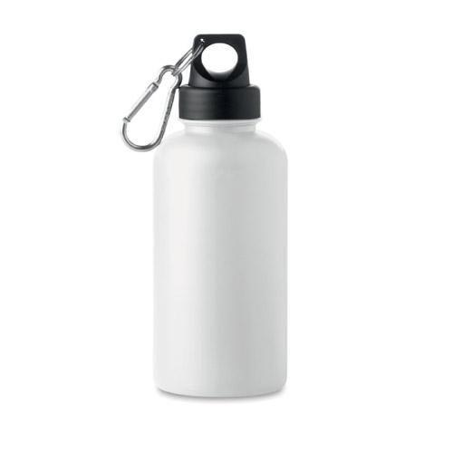 Bouteille personnalisable plastique rigide 500ml blanche