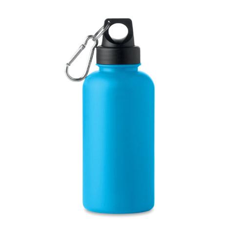 Bouteille personnalisable plastique rigide 500ml bleue clair