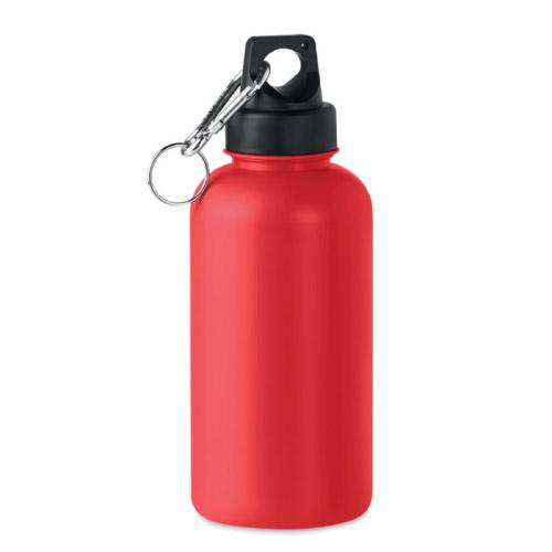 Bouteille personnalisable plastique rigide 500ml rouge