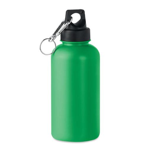 Bouteille personnalisable plastique rigide 500ml verte
