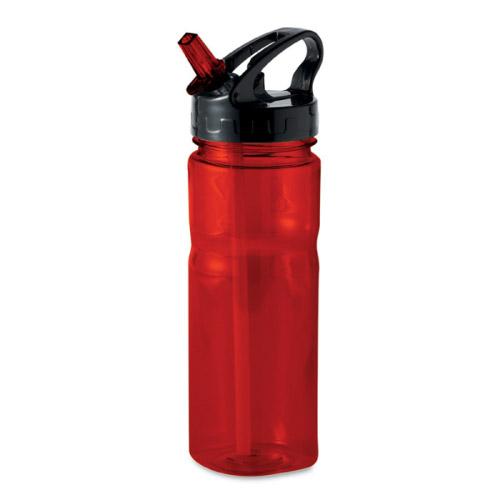 Gourde sport personnalisable pctg rouge 500ml