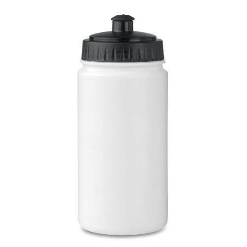 Gourde sport personnalisable plastique blanche 500ml