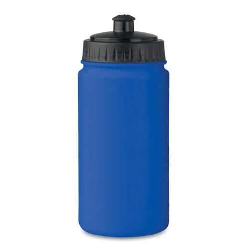Gourde sport personnalisable plastique bleue 500ml