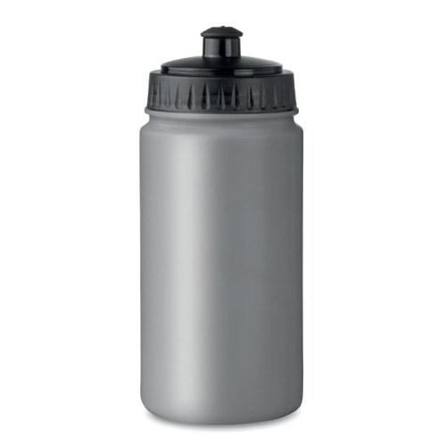 Gourde sport personnalisable plastique grise 500ml