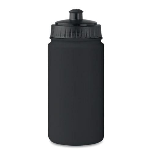 Gourde sport personnalisable plastique noire 500ml