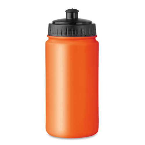 Gourde sport personnalisable plastique orange 500ml