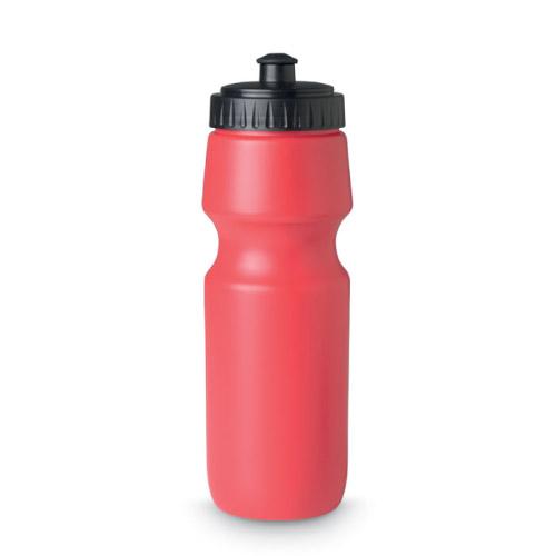 Gourde sport personnalisable plastique rouge 700ml