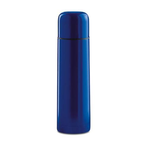 Bouteille isotherme personnalisable inox bleue foncé