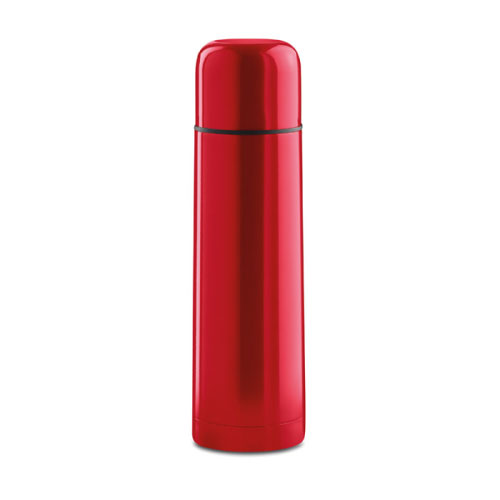 Bouteille isotherme personnalisable inox rouge