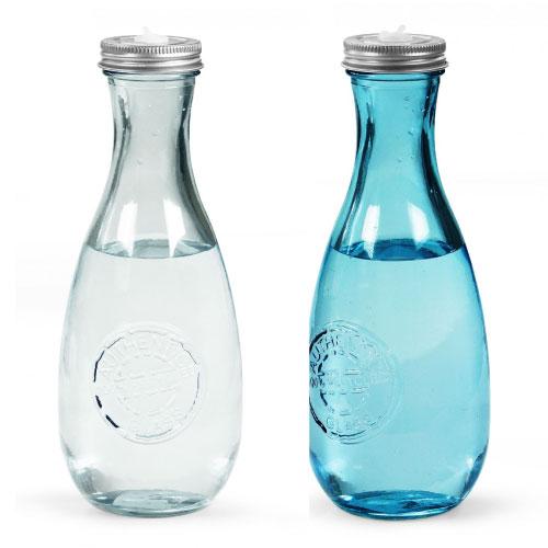 bouteille eau personnalisée en verre