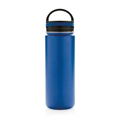 bouteille isotherme en inox personnalisable 500ml bleue avec poignee