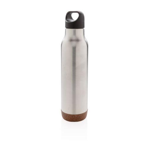 bouteille isotherme personnalisable grise finition liege
