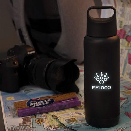 bouteille isotherme publicitaire personnalisée avec logo