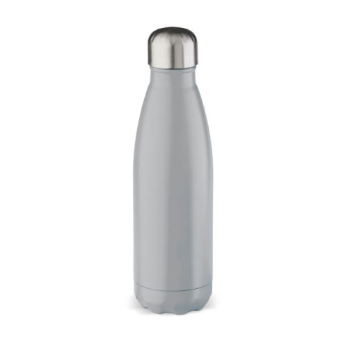 gourde inox isotherme personnalisable grise