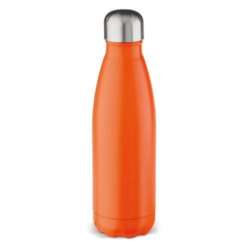 gourde isotherme inox personnalisable classique 500ml orange