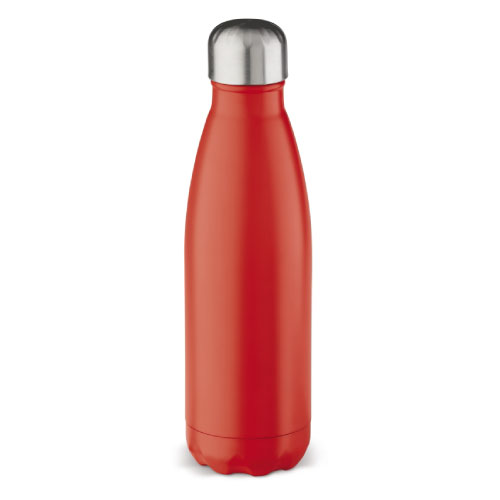 gourde isotherme inox personnalisable classique 500ml rouge