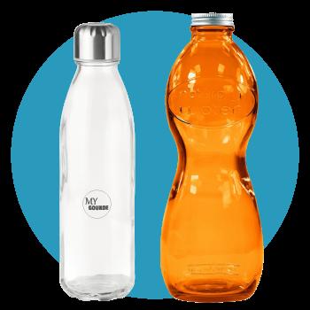 Gourdes et bouteilles d'eau publicitaires personnalisées