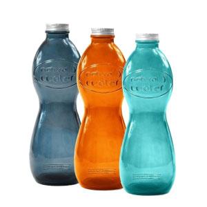 gourde entreprise personnalisable en verre recyclé